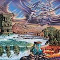 Thundering Gods by Ricardo Chavez-Mendez