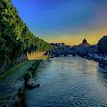 Tiber Evening by Joseph Yarbrough