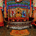Tibetan Buddhist Temple China by Blake Richards