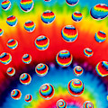 Tie Dyed Drops by Anthony Sacco