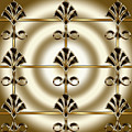 Tiled Deco 1 by Chuck Staley