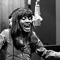 Tina Turner Recording Session by Michael Ochs Archives