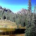 Tipsoo Lake On Chinook Pass Washington by David Patterson