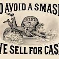 To Avoid A Smash We Sell For Cash, 1828 by Currier And Ives