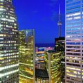 Toronto, Downtown Financial District by Alan Copson