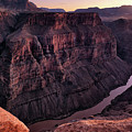 Toroweap Overlook At Sunset by Leland D Howard
