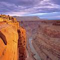 Toroweap Overlook Cliff by Leland D Howard