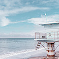 Torrey Pines Beach Lightguard Station Number 5 by Wendy Fielding