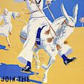 Tour The World. Join The Royal Navy, Navy Recruitment Poster, 1936 by English School