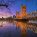 Tower Bridge At Sunrise - 4 by Jonathan Hansen