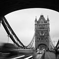 Tower Bridge In London In United by Songquan Deng