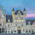 Town Hall Mechelen At Dusk by Jemmy Archer