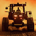 Tractor And Dust by Todd Klassy