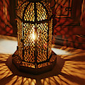 Traditional Lantern Lamp In Luxury Hotel by Steve Estvanik