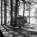 Trailer Park In Yellowstone National by Alfred Eisenstaedt