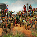 Train - Civil - The Champagne Photo 1869 by Mike Savad