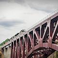 Train Over Letchworth by Jim Lepard