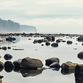 Tranquil Sea Water Surface Landscape by Anton Bielousov