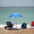 Tranquility At The Beach by Cynthia Guinn