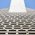Transamerica Pyramid In San Francisco Abstract Geometry Details R730 by Wingsdomain Art and Photography