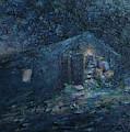 Trapp Family Lodge Cabin Sunrise Stowe Vermont by Felipe Adan Lerma