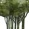 Tree Impressions 1b by Kathy Morton Stanion