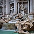 Trevi Fountain by Mary North