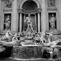 Trevi Fountain - Fontana Di Trevi by Tiffany Travalent