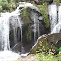 Triberg Waterfalls Landscape by Wendy Payne Travel Writer