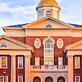 Trible Library Building At Christopher Newport University by Ola Allen