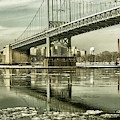 Triboro In Sepia by Cate Franklyn