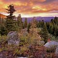 Trinity Mountains by Leland D Howard