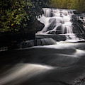 Triple Falls Lower Falls by Donnie Whitaker