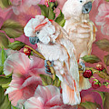 Tropic Spirits - Cockatoos by Carol Cavalaris