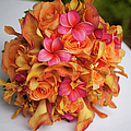 Tropical Colorful Bridal Bouquet by Segray
