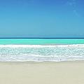 Tropical White Sand Beach by Apomares