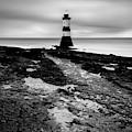 Trwyn Du Lighthouse 2 by Dave Bowman