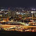Tucson, Arizona Skyline At Night by Chance Kafka