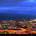 Tucson Cloudy Twilight by Chance Kafka