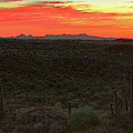 Tucson Mountains At Twilight by Chance Kafka