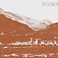 Tucson's Rusty Skyline by Chance Kafka