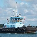 Tugboat Christine S by Bradford Martin