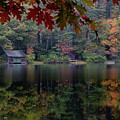 Turning Fall Color On Little Lake by Jeff Folger