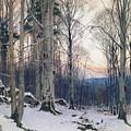 Twilight, Beech Woods by James Thomas Watts