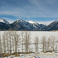 Twin Lakes Winter by Aaron Spong