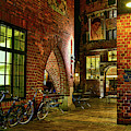 Two Bikes In The Alley by Paul Quinn