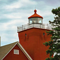 Two Harbors Lighthouse by Bonnie Follett