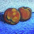 Two Peaches by Karla Beatty