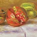 Two Pomegranates by Pierre Auguste Renoir
