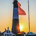 Tybee Island Light Sunset by Dan Sproul